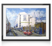 goodison going to the match print